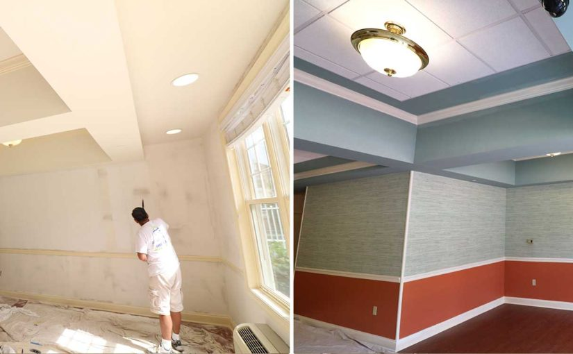 Commercial Painting And Wallpaper Ridge Painting Company