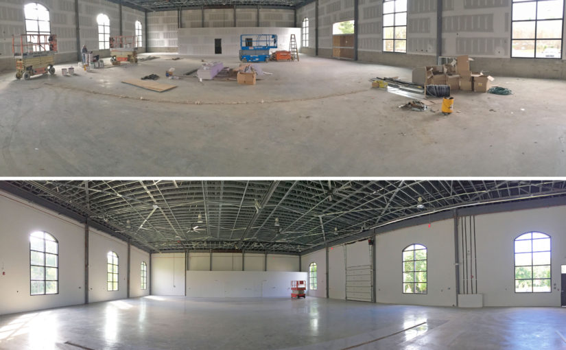commercial painting project in warren nj ridge painting company