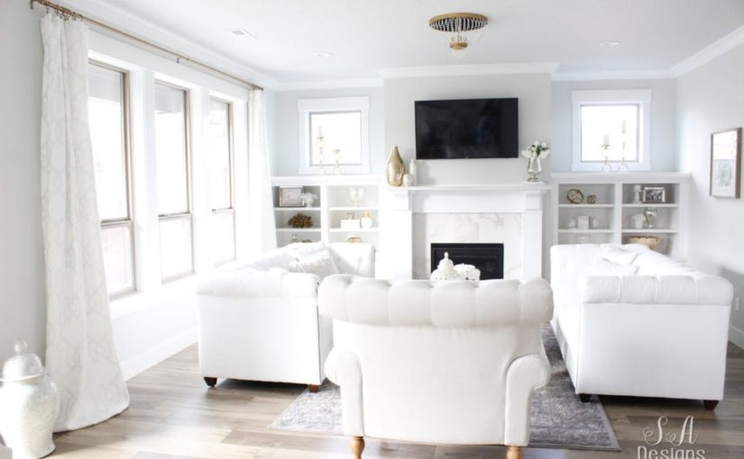 Interior Paint Colors For A Bigger and Brighter Room